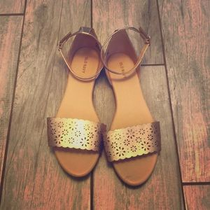 Old Navy ankle strap flats